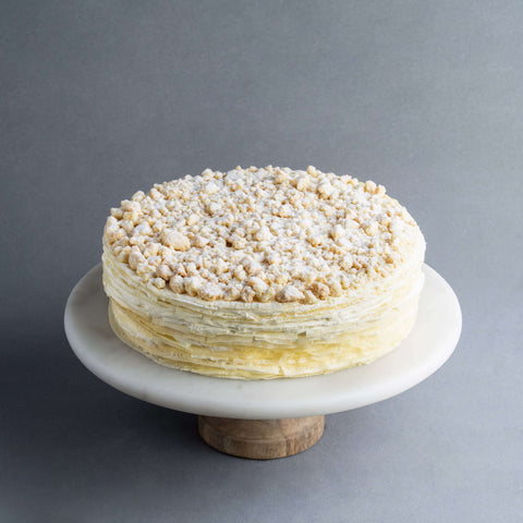 "Durian D24 Mille Crepe 9"" - Mille Crepe - Food Foundry - - - - Eat Cake Today - Birthday Cake Delivery - KL/PJ/Malaysia"