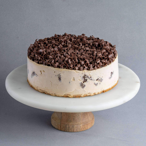 "Espresso Coffee Ice Cream Cake 8"" - Ice Cream Cake - Cake Tella - - Eat Cake Today - Birthday Cake Delivery - KL/PJ/Malaysia"