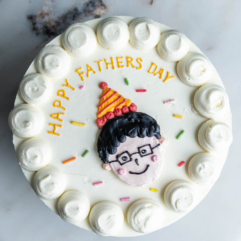 "Father's Day Cake 6"" - Designer Cake - Cakes by Maine - - Eat Cake Today - Birthday Cake Delivery - KL/PJ/Malaysia"
