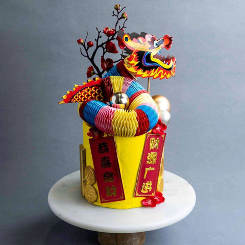 Fire Dragon Cake - Designer Cake - Junandus - - Eat Cake Today - Birthday Cake Delivery - KL/PJ/Malaysia