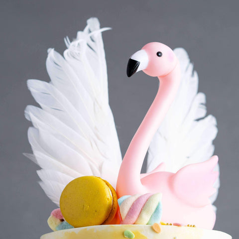 "Flamingo Sunset Cake 5"" - Designer Cake - D'sabroso - - Eat Cake Today - Birthday Cake Delivery - KL/PJ/Malaysia"
