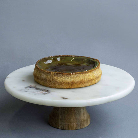 "Flan Au Matcha 6"" - Tart - Lachér Patisserie - - Eat Cake Today - Birthday Cake Delivery - KL/PJ/Malaysia"