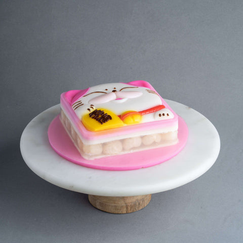 Fortune Cat Jelly Cake - Jelly Cakes - Q Jelly Bakery - - - - Eat Cake Today - Birthday Cake Delivery - KL/PJ/Malaysia