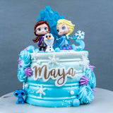 Frozen 2 Princess Cake - Buttercakes - In The Clouds Cakes - - Eat Cake Today - Birthday Cake Delivery - KL/PJ/Malaysia