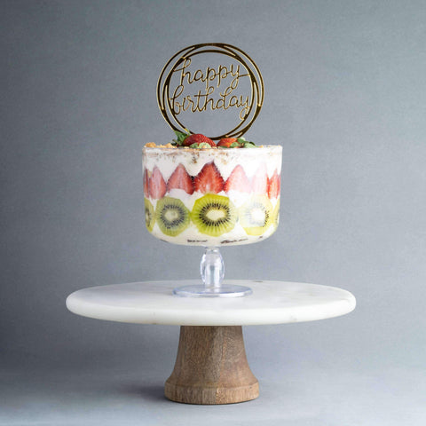 "Fruity Trifle 6"" - Fruits Cake - Kinmen Patisserie - - - - Eat Cake Today - Birthday Cake Delivery - KL/PJ/Malaysia"