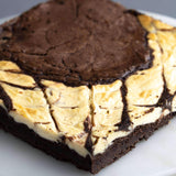 "Gluten Free Brown Cow Brownies 10"" - Brownies - Baked KL - - Eat Cake Today - Birthday Cake Delivery - KL/PJ/Malaysia"