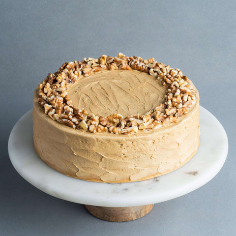 Gluten Free Chocolate Coffee Walnut Cake 9