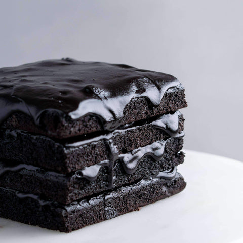 Gluten Free Cocoa Brownie - Healthy Cakes - Baked KL - - Eat Cake Today - Birthday Cake Delivery - KL/PJ/Malaysia