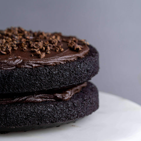 "Gluten Free Dark Chocolate Cake 7.5"" - Healthy Cakes - Baked KL - - - - Eat Cake Today - Birthday Cake Delivery - KL/PJ/Malaysia"