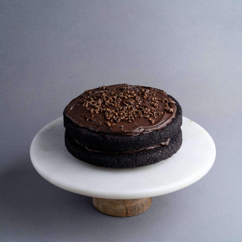 "Gluten Free Dark Chocolate Cake 7.5"" - Healthy Cakes - Baked KL - - Eat Cake Today - Birthday Cake Delivery - KL/PJ/Malaysia"