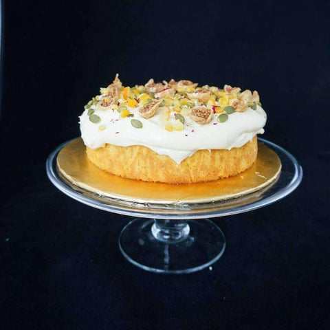 "Gluten-Free Flourless Orange Almond Cake 7"" - Healthy Cakes - Souka - - - - Eat Cake Today - Birthday Cake Delivery - KL/PJ/Malaysia"