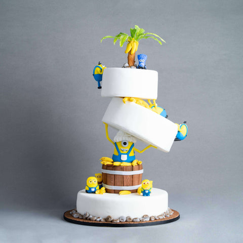 "Gravitiminion Cake 10"" - Designer Cake - Baker's Art - - Eat Cake Today - Birthday Cake Delivery - KL/PJ/Malaysia"
