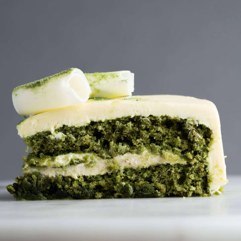Green Tea Envy Me Cake - Tea Flavored Cake - Whipped - - - - Eat Cake Today - Birthday Cake Delivery - KL/PJ/Malaysia