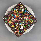 "Halloween Smores Brownies 9"" - Brownies - Ennoble by Elevete - - Eat Cake Today - Birthday Cake Delivery - KL/PJ/Malaysia"