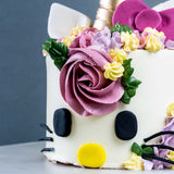 "Hello Kitty-corn Cake 4"" - Designer Cake - The Buttercake Factory - - Eat Cake Today - Birthday Cake Delivery - KL/PJ/Malaysia"