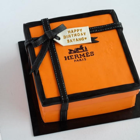 Hermes Cake 8 inch - Customized Cake - Cakes by Maine - - Eat Cake Today - Birthday Cake Delivery - KL/PJ/Malaysia
