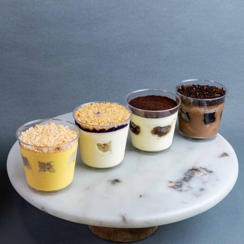 Individual Delightful Dessert Cups - Desserts - Mini Monster - - Eat Cake Today - Birthday Cake Delivery - KL/PJ/Malaysia