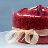 "Jingle Berry Chocolate Mousse 6"" - Mousse Cakes - MareMaris Patisserie - - Eat Cake Today - Birthday Cake Delivery - KL/PJ/Malaysia"