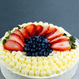 "Keto Fruit Cake 8"" - Fruits Cakes - Cuddly Confectioner - - Eat Cake Today - Birthday Cake Delivery - KL/PJ/Malaysia"
