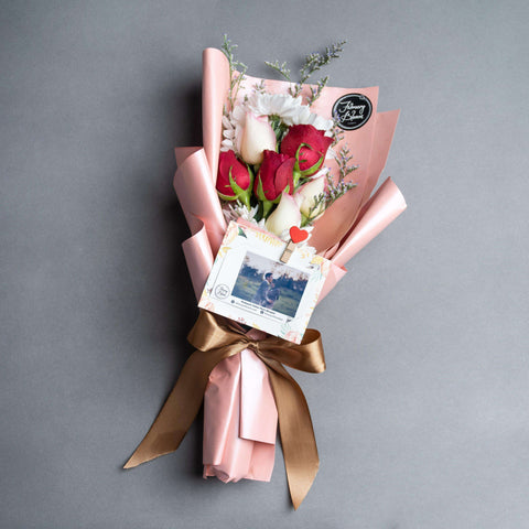Lavish Bloom Flower Bouquet - Add On - February Bloom - - - - Eat Cake Today - Birthday Cake Delivery - KL/PJ/Malaysia