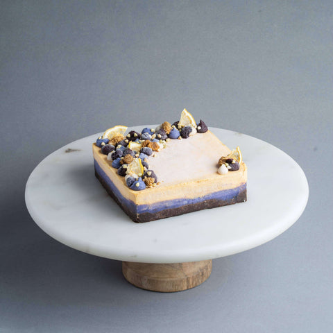 "Lemon Blueberry Cake 5"" - Healthy Cakes - The Honest Treat - - - - Eat Cake Today - Birthday Cake Delivery - KL/PJ/Malaysia"
