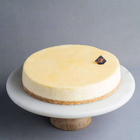 "Lemon Cheesecake 9"" - Cheesecakes - Madeleine Patisserie - - - - Eat Cake Today - Birthday Cake Delivery - KL/PJ/Malaysia"