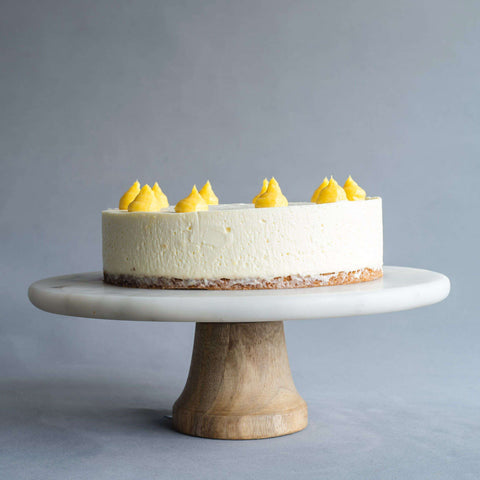 "Lemon Curd Cheesecake 8"" - Cheesecakes - Petiteserie Desserts - - Eat Cake Today - Birthday Cake Delivery - KL/PJ/Malaysia"