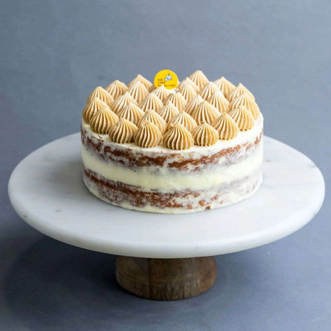 "Lemon Earl Grey Cake 7"" - Fruits Cake - Cat & The Fiddle - - Eat Cake Today - Birthday Cake Delivery - KL/PJ/Malaysia"