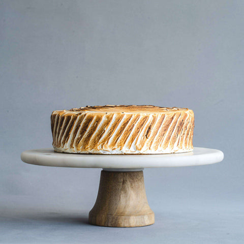 "Lemon Meringue Cake 8"" - Sponge Cake - Petiteserie Desserts - - - - Eat Cake Today - Birthday Cake Delivery - KL/PJ/Malaysia"