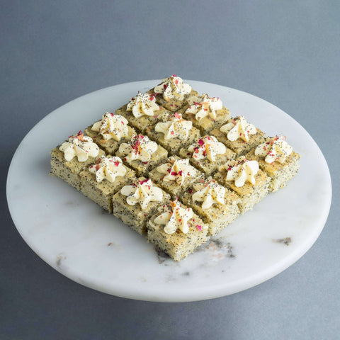 Lemon Poppyseed Bites - Cake Bites - Ennoble - - Eat Cake Today - Birthday Cake Delivery - KL/PJ/Malaysia