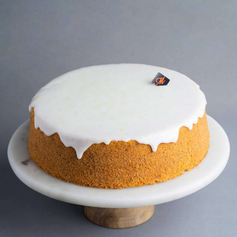 "Lemon Poppyseed Cake 9"" - Fruits Cake - Madeleine Patisserie - - - - Eat Cake Today - Birthday Cake Delivery - KL/PJ/Malaysia"