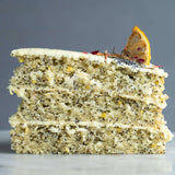 Lemon Poppyseed Cake - Butter Cake - Ennoble - - Eat Cake Today - Birthday Cake Delivery - KL/PJ/Malaysia