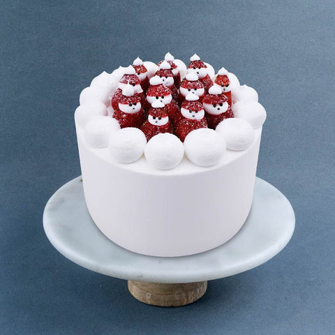 "Little Santa's Cake 6"" - Foam Cakes - Now Bakery - - Eat Cake Today - Birthday Cake Delivery - KL/PJ/Malaysia"