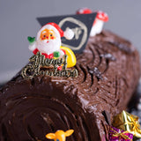 Log Cake - Salted Caramel Chocolate Cake - Ennoble - - Eat Cake Today - Birthday Cake Delivery - KL/PJ/Malaysia