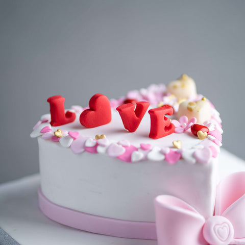 "Love Cake 6"" - Designer Cake - B'Sweetbites - - - - Eat Cake Today - Birthday Cake Delivery - KL/PJ/Malaysia"