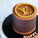 "LV Cake 5"" - Customized Cakes - Cakes by Maine - - Eat Cake Today - Birthday Cake Delivery - KL/PJ/Malaysia"