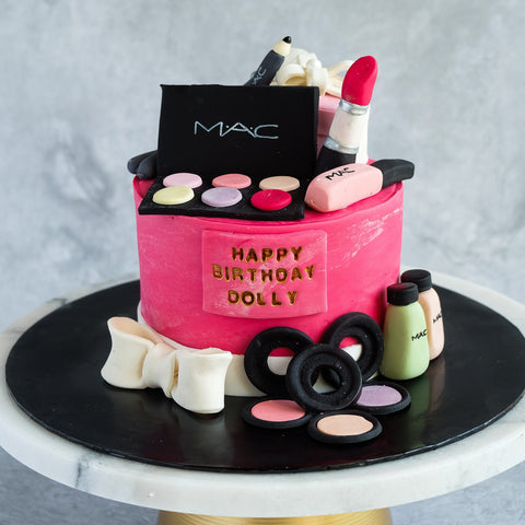 "MAC Makeup Cake 5"" - Customized Cakes - Cakes by Maine - - Eat Cake Today - Birthday Cake Delivery - KL/PJ/Malaysia"