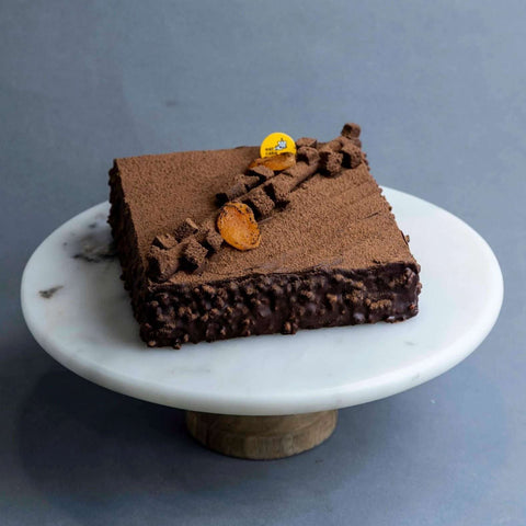 "Magnum Chocolate Apricot Cake 7"" - Chocolate Cake - Cat & The Fiddle - - Eat Cake Today - Birthday Cake Delivery - KL/PJ/Malaysia"