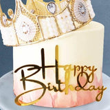 "Majestic Crown Cake 5"" - Designer Cakes - Avalynn Cakes - - Eat Cake Today - Birthday Cake Delivery - KL/PJ/Malaysia"