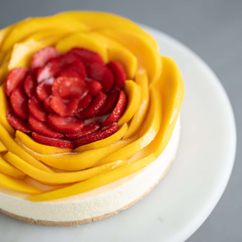 Mango Berry Cheesecake - Cheesecakes - Purple Monkey - - - - Eat Cake Today - Birthday Cake Delivery - KL/PJ/Malaysia