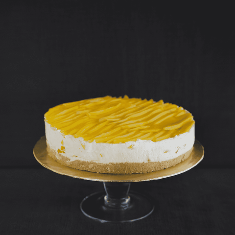 "Mango Cheesecake 9"" - Cheesecakes - Gula Cakery - - Eat Cake Today - Birthday Cake Delivery - KL/PJ/Malaysia"