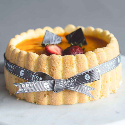 "Mango Delight Cake 6"" - Fruits Cake - Tedboy Bakery - - Eat Cake Today - Birthday Cake Delivery - KL/PJ/Malaysia"