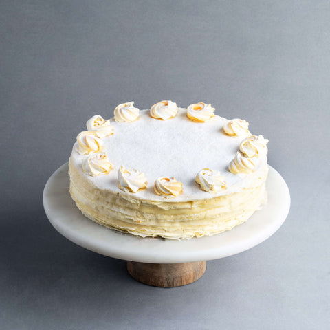 "Mango Mille Crepe 9"" - Mille Crepe - Food Foundry - - Eat Cake Today - Birthday Cake Delivery - KL/PJ/Malaysia"