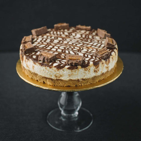 "Mars Bar Cheesecake 8"" - Cheesecakes - Souka - - Eat Cake Today - Birthday Cake Delivery - KL/PJ/Malaysia"