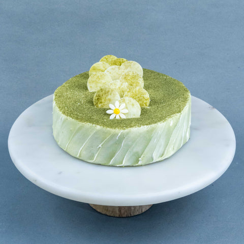 "Matcha Sake Cake 7"" - Tea Flavored Cake - Cheers2Cheers - - Eat Cake Today - Birthday Cake Delivery - KL/PJ/Malaysia"