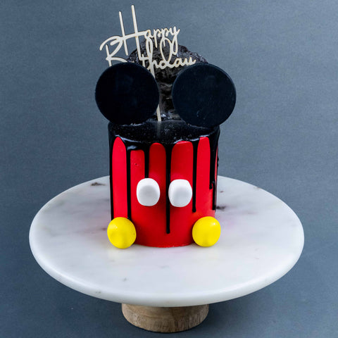 "Mighty Mickey Cake 4"" - Designer Cake - The Buttercake Factory - - Eat Cake Today - Birthday Cake Delivery - KL/PJ/Malaysia"