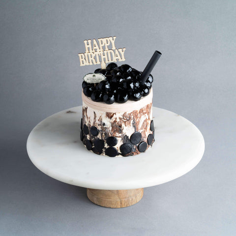 "Mini Boba Cake 4"" - Designer Cake - The Buttercake Factory - - Eat Cake Today - Birthday Cake Delivery - KL/PJ/Malaysia"
