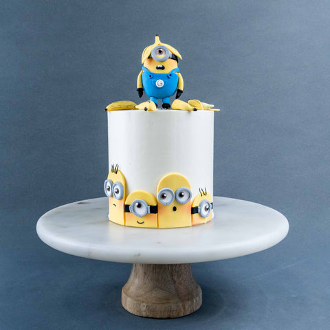 "Minion Cake 5"" - Designer Cake - Cakes by Maine - - Eat Cake Today - Birthday Cake Delivery - KL/PJ/Malaysia"