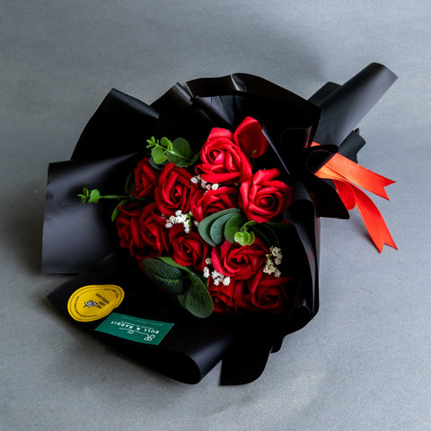 Miriam Flower Bouquet - Flowers - Bull & Rabbit - - Eat Cake Today - Birthday Cake Delivery - KL/PJ/Malaysia