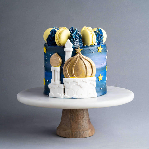 Mosque Cake 6'' - Designer Cake - Junandus - - - - Eat Cake Today - Birthday Cake Delivery - KL/PJ/Malaysia